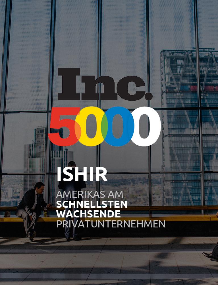 ISHIR - Ein Inc 5000 Unternehmen