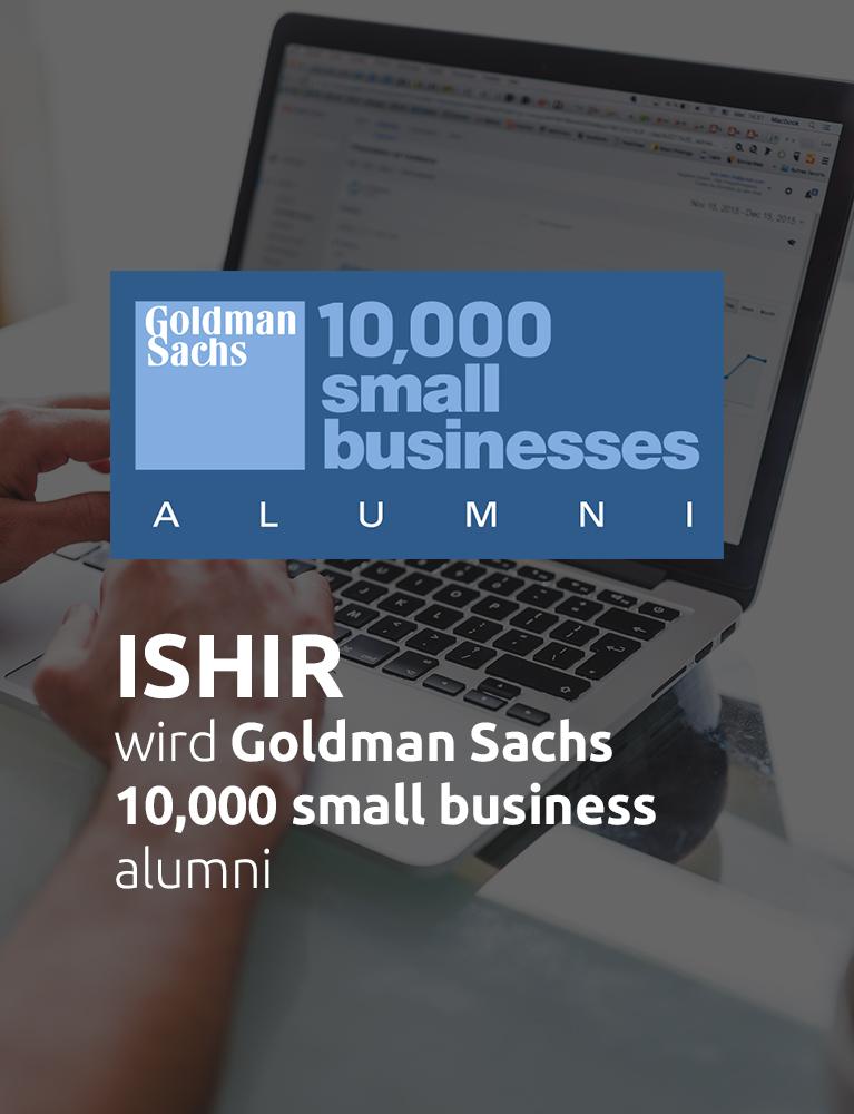 Goldman Sachs 10.000 Kleinunternehmen Alumni