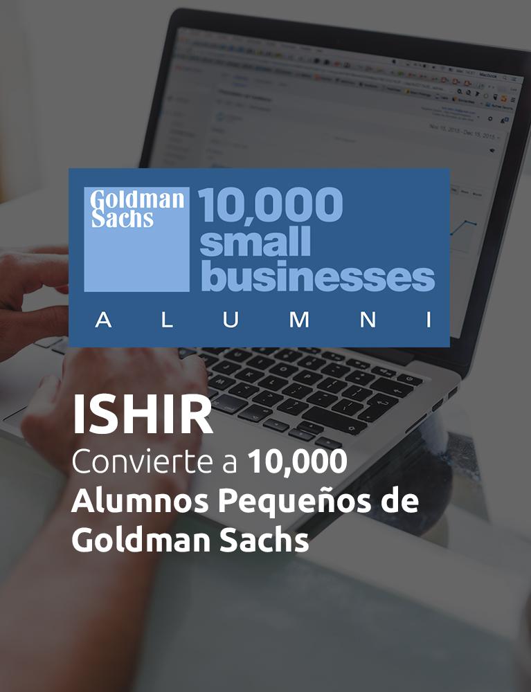 Goldman Sachs 10,000 Pequeñas Empresas Alumni